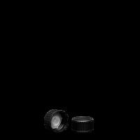 Schraubverschluss - schwarz - GL 22 - LDPE