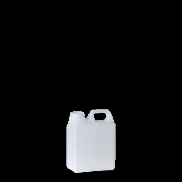 1 Liter Kanisterflasche - natur - DIN 40 Gewinde