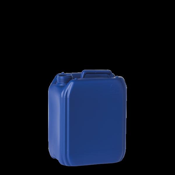 5 Liter Kunststoff Kanister blau - DIN 45 - UN-Y